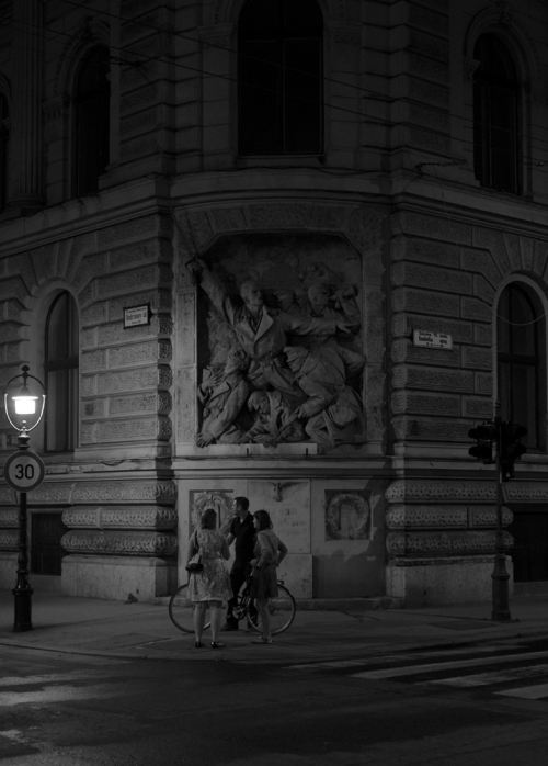 Budapest Street Corner